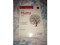 Hodder and Gibson Higher Maths Book