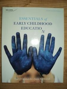 COLLEGE EARLY CHILDHOOD EDUCATION BOOKS -FIRST YEAR STUDENT