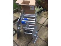 Multi Purpose Ladder With Platform Brand New Screwfix