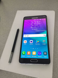 Samsung Note 4! MINT CONDITION! Stylus Pen! ROGERS
