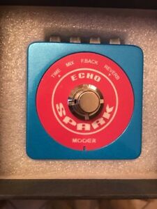 MOOER SPARK ECHO PEDAL NEW