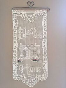 """""""BLESS THIS HOME"""" Wall Hanging"""