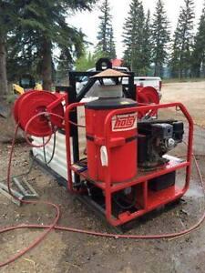 2013 Hotsy Combo Steamer/Pressure Washer.