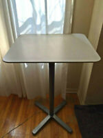 Like new Ikea Bar Table and two stools