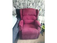 HSL linton riser recliner chair with remote