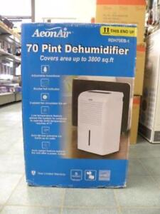 DEHUMIDIFIERS NEW! SEALED IN BOX !!!!!!!!!!90 DAY fWARRANTY!!!!!