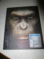 Rise Of The Planet Of The Apes (2011)  Bluray/DVD/digital copy