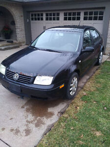 2002 Volkswagen Jetta GLS Sedan with valid ETEST and snow tires!