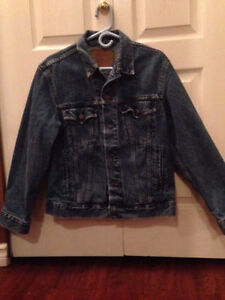 Levi red tab jean jacket