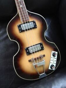 Original 70's Hofner Beatle bass COPY