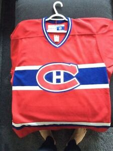 MONTREAL CANADIENS JERSEY CCM / AUTHENTIC / ASKING ONLY $25