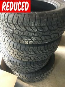 275 55R20 Hankook Dynapro AT-m 113T Tires Excellent cond