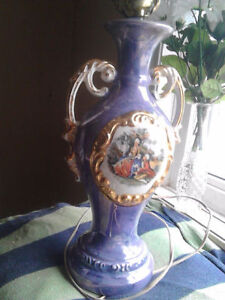 antique victorian style lamp