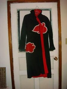Naruto Shippuden Akatsuki Cosplay, Cards Fabric Art Work