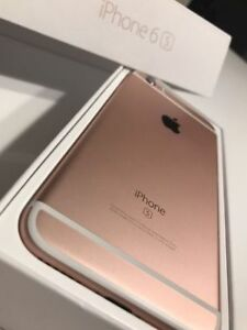 ROSE GOLD Apple iPhone 6S 16 GB in Original Box - ROGERS / CHATR