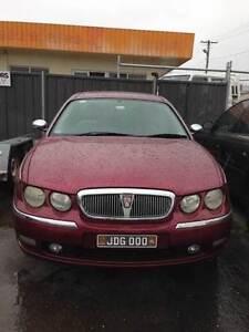 2001 Rover 75 Sedan Kanahooka Wollongong Area Preview