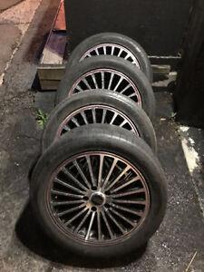 Audi, Mercedes Benz, Volkswagen Mag 17 Pouces & Pneu été potenza