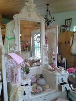 I want to buy a very fancy dresser/vanity & Armoire ...
