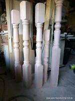 Wanted turned Posts for veranda, larger ones