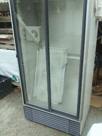 DOUBLE DOOR DISPLAY COOLER / FRIDGE / CHILLER