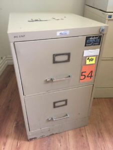 2 Drawer Vertical Filing Cabinets