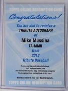 Mike Mussina Auto