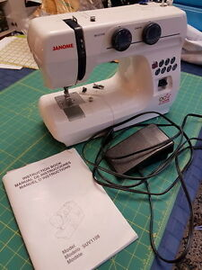 Janome sewing machine multi stitch SUV1108