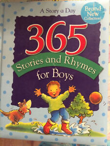 365 STORIES AND RHYMES FOR BOYS - $5 London Ontario image 1