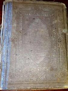 ANTIQUE PULPIT BIBLE Matthew Henry 1800s RARE BOOK Reformation