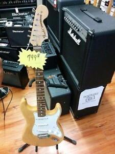 Strat ressued '70s series Fender