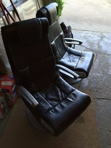 Two gaming chairs