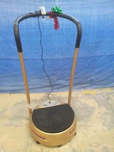 T Zone vibration therapy machine.