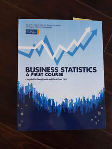 Business Statistics A First Course Darryl Smith