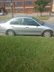 2001 Honda Civic 5 speed Manual Transmission