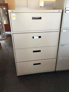 Used 4 -Drawer Filing Cabinets - Different Styles and Colors!