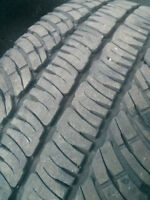 Complete Set os 275-65-20 LT Rated Michelin A/S tires