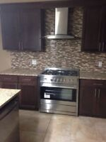 Professional Installations - Laminate Tiles Backsplash