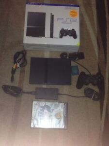 Sony PLaystation 2 Ps2 IN Box with all cable controller memory