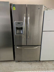 MAYTAG STAINLESS STEEL SIDE-BY-SIDE FRIDGE ONLY $1199+HST!!!