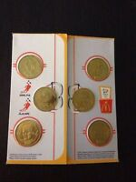 McDonalds 1998 Team Canada official Olympic Hockey Medallions