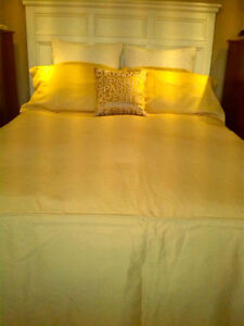 King Size Bed Cover with Shams