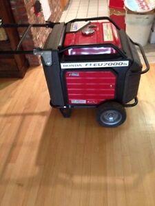 7000 Watt Honda Inverter Generator Practicly Brand New