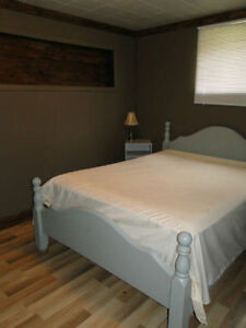 2 Bedroom Basement Suite Furnished CHETWYND available now