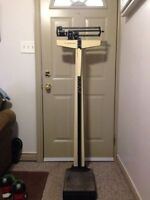 Physician Balance Beam Doctors Room Scale by Health O Meter
