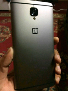 Unlocked Oneplus3 in mint condition: 64 GB