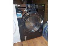 BEKO WDX8543130B Washer Dryer Black 8 kg Capacity 1400 rpm A Energy Rating