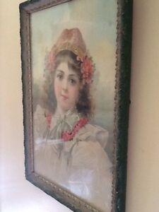 Victorian Era - Vintage Framed Pic : Gorgeous!! Belleville Belleville Area image 4