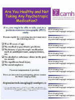 CAMH RESEARCH PARTICIPATION