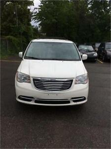 2013 Chrysler Town & Country Touring ,very clean , certified