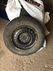 Winter tires 205 / 65 R15 with rims!!!!